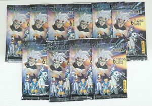 Lotto n. 10 Bustine: Dragonball GT Serie 1 Cards. Panini 1998