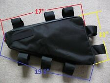 Bicycle Frame Bag Electric bike heavy duty battery bag Up to 18 lbs. OK !