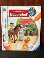 RAVENSBURGER tiptoi® Buch - Entdecke den Bauernhof  -- wie NEU --