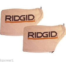 """089028007140 (2) Ridgid 12"""" Compound Miter Saw Replacement Dust Bag"""