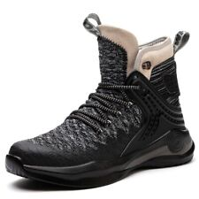 Mens Mesh Steel Toe Work Boots Safety Shoes Indestructible Waterproof Sneaker