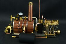 New Two-cylinder steam engine Live Steam with Boiler Live Steam
