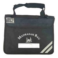 Durable Madrasah Bag for Kids / Children - (31x 39CM) (BLACK BAG 1)