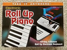Electronic Roll-Up Piano 49 Key 4 Octave with Original Box