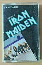 IRON MAIDEN Best RARE INDONESIA Aquarius Records CASSETTE TAPE