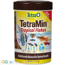 Tetra TetraMin Tropical Flakes Fish Food 2.2 oz Fast Free USA Shipping