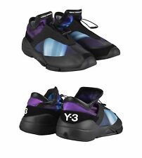 Y-3 YOHJI YAMAMOTO ADIDAS FUTURE TOGGLE TIE PURPLE TRAINERS SHOES. UK 10 - EU 44