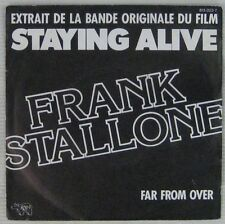 Franck Stallone 45 tours Staying Alive 1983
