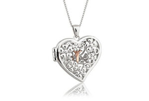NEW Official Welsh Clogau Silver & Rose Gold Fairy Locket £60 OFF!