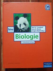 Biologie von Neil A. Campbell und Jane B. Reece - 6. Auflage (2006)
