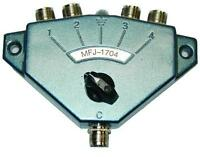 MFJ-1704 Hi Power Antenna Switch - 4 Position. HF/VHF/UHF