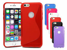 Shockproof Slim Case Protective Cover For Apple iPhone 4s, 5s, 5c, 6s, Plus, 8,