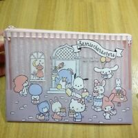 Sanrio Characters My Melody Cosmetic Case Flat Pouch Zipper Bag JAPAN LIMITED