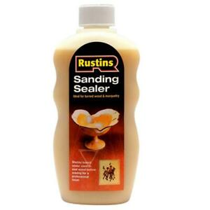 Rustins Shellac Based Sanding Sealer 300ml for All types of Wood