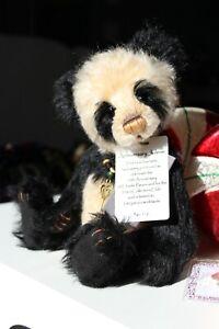 Charlie Bears Anniversary Jolene Pin Badge Limited to 300