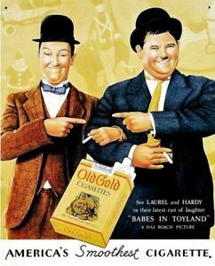Stan & Olli Schild Dick und Doof Kino Film Plakat Werbung Repro Deko * 135
