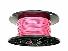 16 GAUGE WIRE PINK 300 FT PRIMARY AWG STRANDED COPPER POWER GROUND MTW VW-1 TEW