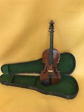 Vintage 4/4 Scale Full Size Stradivarius Copy Violin with Case
