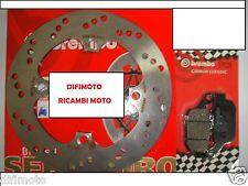DISCO FRENO BREMBO + PASTIGLIE POSTERIORI HONDA 125 PANTHEON 2005 2006 2007 749