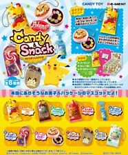Re-Ment Miniature PokeMon Candy and Snack Mascot Full Set of 8 pcs