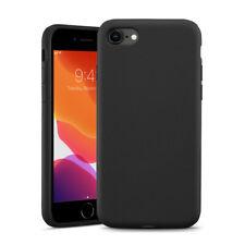 Ultra slim silicon Black Gel back case for iPhone SE2020