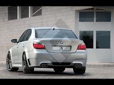 BMW E60/61 5 M Power body kit rear bumper fx