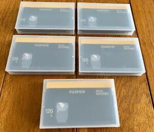 Fuji DP121 126L DVCPRO Videotapes (Large) NEW (5)