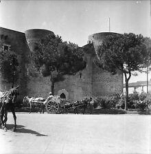 CATANE c. 1950 - Château Ursino Sicile Italie - Négatif 6 x 6 - ITAL 62
