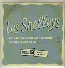(BR521) Les Shelleys, The World Is Waiting For The Sunrise - DJ CD