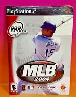 BRAND NEW SEALED - MLB 2004 DEMO DISC - PS2 Playstation 2 - Baseball Rare Demo !