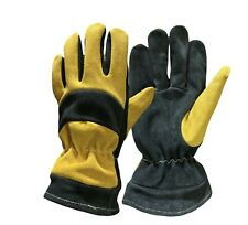 Firefighter Cowhide Leather Gloves Firefighter Structural Gloves