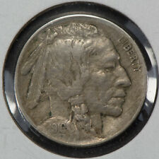 1916 5c INDIAN HEAD BUFFALO NICKEL, LUSTER! AU + COIN LOT#S496