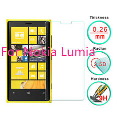 For Nokia Lumia 920 100% Genuine Tempered Glass Screen Protector Film T