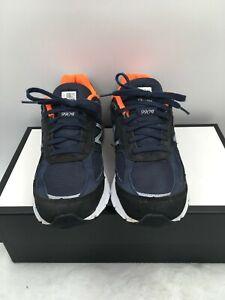 New Balance 990v4 Women's Running Shoes Navy Orange W990NV4 Size 8 B Made in USA