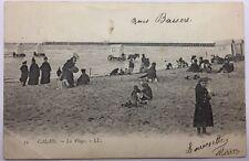 CPA Calais - La plage #c267