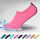 Men Women Aqua Skin Shoes Swim Water Socks Yoga Exercise Pool Beach Slip On Surf
