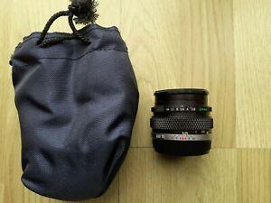 Olympus OM System Zuiko Auto-W 1:2.8 F=24mm wide angle lens