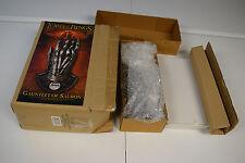 Uc3065 - United Cutlery Lotr Gauntlet of Sauron in original box 0496 of 1000
