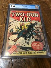 1st app. Two-Gun Kid in Two-Gun Kid #1 comic 1948 GOLDEN AGE CGC 2.0