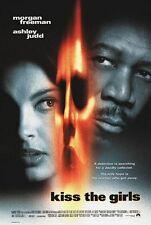 Kiss the Girls Original D/S Rolled Movie Poster 27x40 Ashley Judd Morgan Freeman