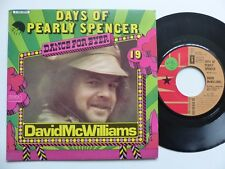 Dance for ever DAVID MCWILLIAMS Days of Pearly spencer 2C010 05945      RTL