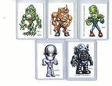 Sci-Fi Adventure #1 (5 Cards) Art Prints Ymir Sinbad Cyclops Gort Robby Robot