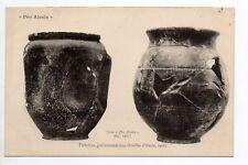 ALESIA pro-alésia CPA 21 fouilles gallo-romaines des poteries