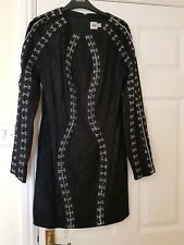 ASOS Black Lace Dress Size 12