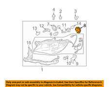 SUBARU OEM Combination Lamps Marker Corner Light-Front-Outer Cover 84953FE170