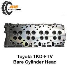 Toyota 1KD-FTV New Bare Cylinder Head Hi-lux, Hiace, Prado