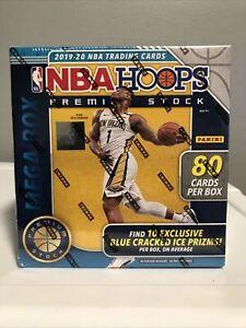 2019-20 Panini NBA Hoops Premium Stock Mega Box-FACTORY SEALED