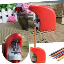 Electric Pencil Sharpener Automatic Touch Switch Office Make Up Desktop Office L