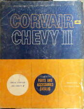 1960-1962  CHEVROLET CORVAIR CHEVY II PARTS ACCESSORIES CATALOG PIECES DETACHEES