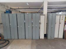 More details for vintage industrial metal lockers cabinet gym factory